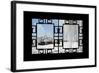 China 10MKm2 Collection - Asian Window - Another Look Series - Beihai Park-Philippe Hugonnard-Framed Photographic Print