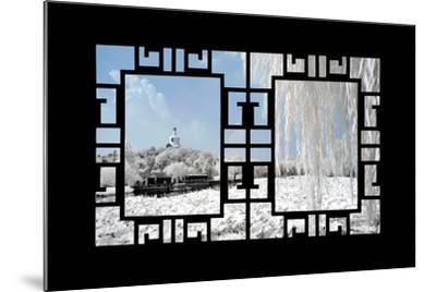 China 10MKm2 Collection - Asian Window - Another Look Series - Beihai Park-Philippe Hugonnard-Mounted Photographic Print