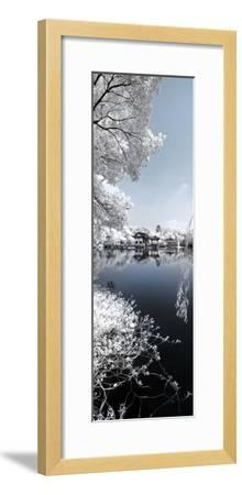 China 10MKm2 Collection - Another Look - Blue Lake-Philippe Hugonnard-Framed Photographic Print