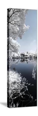 China 10MKm2 Collection - Another Look - Blue Lake-Philippe Hugonnard-Stretched Canvas Print