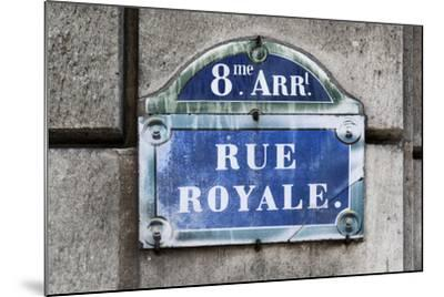 Paris Focus - Rue Royale-Philippe Hugonnard-Mounted Photographic Print