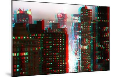 After Twitch NYC - Fog New York-Philippe Hugonnard-Mounted Photographic Print