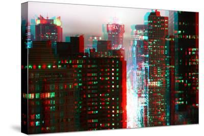After Twitch NYC - Fog New York-Philippe Hugonnard-Stretched Canvas Print