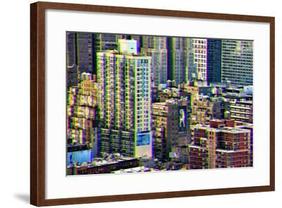 After Twitch NYC - Manhattan Buildings-Philippe Hugonnard-Framed Photographic Print