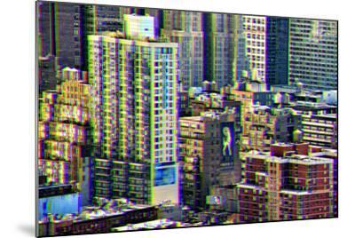 After Twitch NYC - Manhattan Buildings-Philippe Hugonnard-Mounted Photographic Print