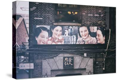 China 10MKm2 Collection - Vintage Chinese Shanghai Girls-Philippe Hugonnard-Stretched Canvas Print