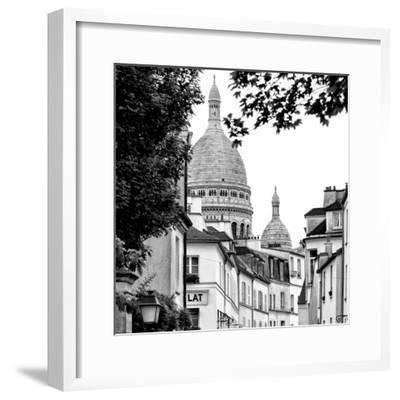 Paris Focus - Sacre-C?ur Basilica - Montmartre-Philippe Hugonnard-Framed Photographic Print