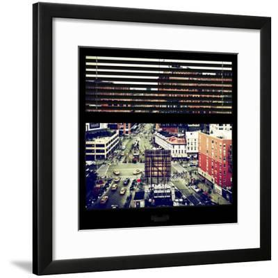 View from the Window - Chelsea Buildings - Manhattan-Philippe Hugonnard-Framed Photographic Print