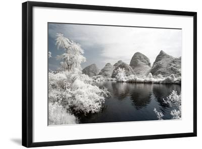 China 10MKm2 Collection - Another Look - Mountain Lake-Philippe Hugonnard-Framed Photographic Print