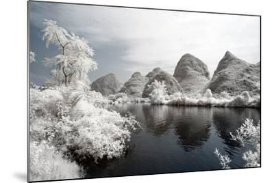 China 10MKm2 Collection - Another Look - Mountain Lake-Philippe Hugonnard-Mounted Photographic Print