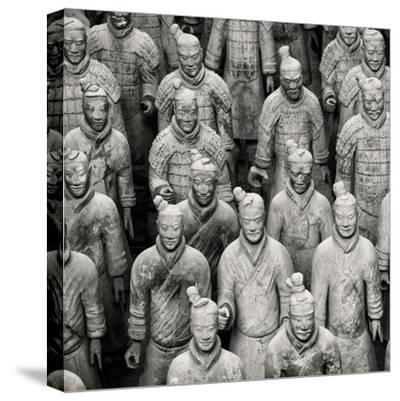 China 10MKm2 Collection - Army of Terracotta Warriors - Shaanxi Province-Philippe Hugonnard-Stretched Canvas Print