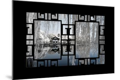 China 10MKm2 Collection - Asian Window - Another Look Series - White Reflections-Philippe Hugonnard-Mounted Photographic Print