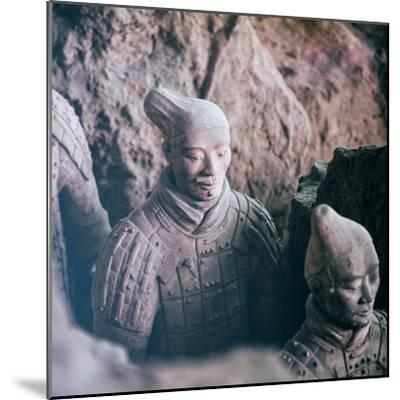 China 10MKm2 Collection - Army of Terracotta Warriors - Shaanxi Province-Philippe Hugonnard-Mounted Photographic Print