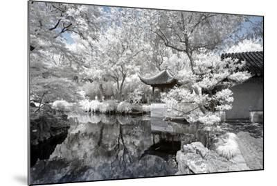 China 10MKm2 Collection - Another Look - White Pavilion-Philippe Hugonnard-Mounted Photographic Print