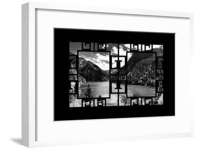 China 10MKm2 Collection - Asian Window - Great View of Lake in the Jiuzhaigou National Park-Philippe Hugonnard-Framed Photographic Print