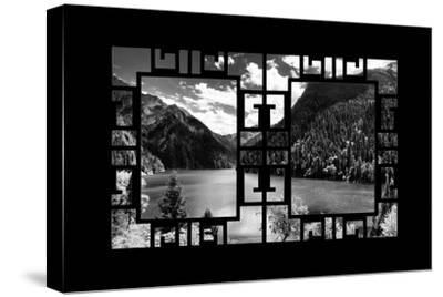 China 10MKm2 Collection - Asian Window - Great View of Lake in the Jiuzhaigou National Park-Philippe Hugonnard-Stretched Canvas Print