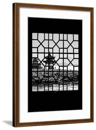 China 10MKm2 Collection - Asian Window - West Lake-Philippe Hugonnard-Framed Photographic Print