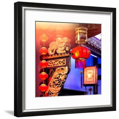 China 10MKm2 Collection - Chinese Lanterns-Philippe Hugonnard-Framed Photographic Print