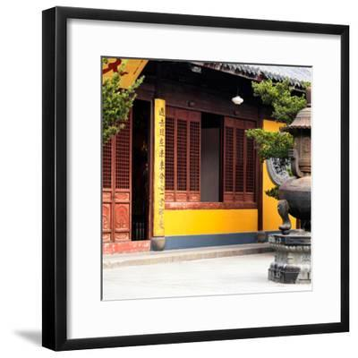 China 10MKm2 Collection - Buddhist Temple-Philippe Hugonnard-Framed Photographic Print