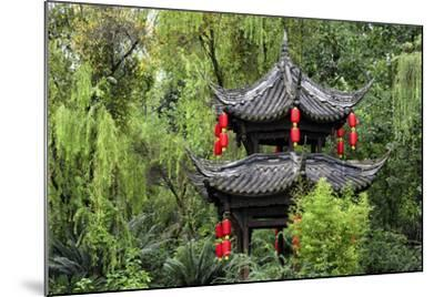 China 10MKm2 Collection - Chinese Pavilion in Garden-Philippe Hugonnard-Mounted Photographic Print