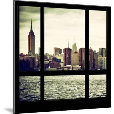 View from the Window - Skyline - Manhattan-Philippe Hugonnard-Mounted Photographic Print