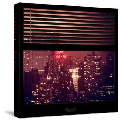 View from the Window - The New Yorker-Philippe Hugonnard-Stretched Canvas Print