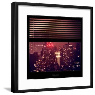 View from the Window - The New Yorker-Philippe Hugonnard-Framed Photographic Print