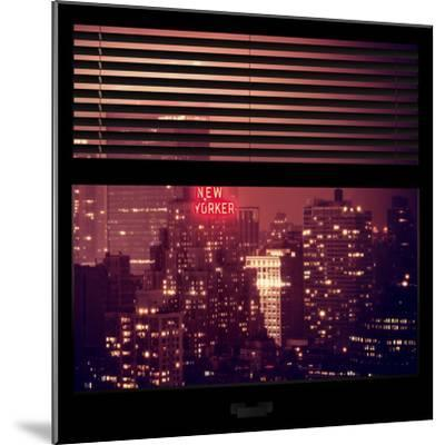 View from the Window - The New Yorker-Philippe Hugonnard-Mounted Photographic Print