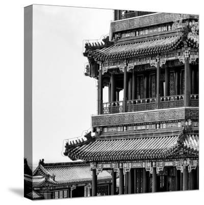 China 10MKm2 Collection - Detail of Summer Palace-Philippe Hugonnard-Stretched Canvas Print