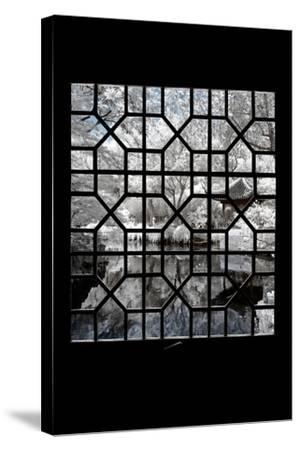 China 10MKm2 Collection - Asian Window - Another Look Series - White Island-Philippe Hugonnard-Stretched Canvas Print