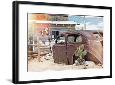 Pastel Series - American West-Philippe Hugonnard-Framed Photographic Print