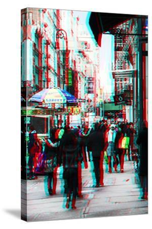 After Twitch NYC - Winter Walk-Philippe Hugonnard-Stretched Canvas Print