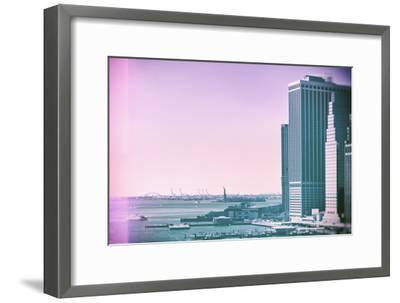 Pastel Series - New York City-Philippe Hugonnard-Framed Photographic Print