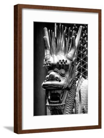 China 10MKm2 Collection - Detail of Dragon-Philippe Hugonnard-Framed Photographic Print