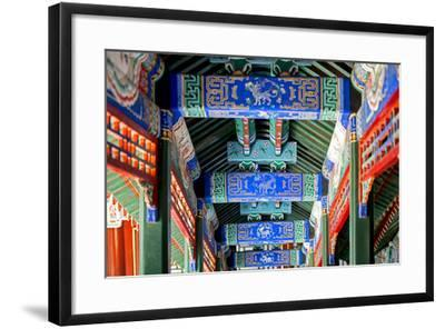 China 10MKm2 Collection - Detail of Imperial Summer Palace-Philippe Hugonnard-Framed Photographic Print