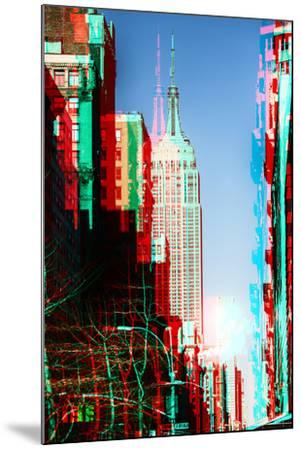 After Twitch NYC - Manhattan Winter-Philippe Hugonnard-Mounted Photographic Print