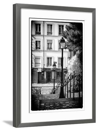 Paris Focus - Steps to Montmartre-Philippe Hugonnard-Framed Photographic Print