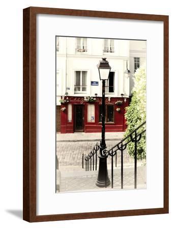 Paris Focus - Steps to Montmartre-Philippe Hugonnard-Framed Premium Photographic Print