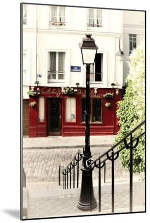 Paris Focus - Steps to Montmartre-Philippe Hugonnard-Mounted Premium Photographic Print