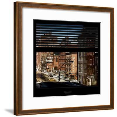 View from the Window - Manhattan Winter-Philippe Hugonnard-Framed Photographic Print