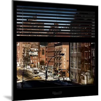 View from the Window - Manhattan Winter-Philippe Hugonnard-Mounted Photographic Print
