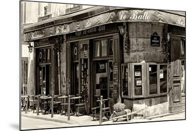 Paris Focus - Parisian Bar-Philippe Hugonnard-Mounted Photographic Print