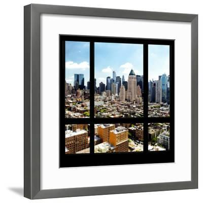 View from the Window - Midtown Manhattan-Philippe Hugonnard-Framed Photographic Print