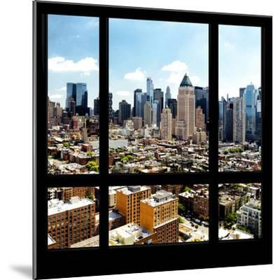 View from the Window - Midtown Manhattan-Philippe Hugonnard-Mounted Photographic Print