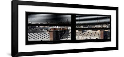 Paris Focus - Paris Window View-Philippe Hugonnard-Framed Photographic Print