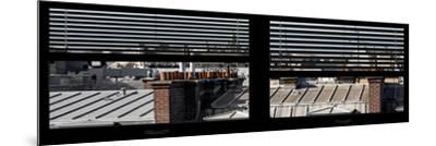 Paris Focus - Paris Window View-Philippe Hugonnard-Mounted Photographic Print