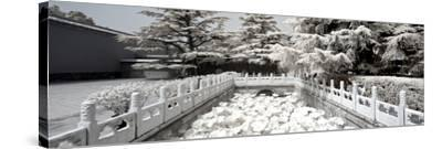 China 10MKm2 Collection - Another Look - Lotus Bridge-Philippe Hugonnard-Stretched Canvas Print