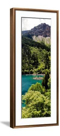 China 10MKm2 Collection - Beautiful Lake in the Jiuzhaigou National Park-Philippe Hugonnard-Framed Photographic Print