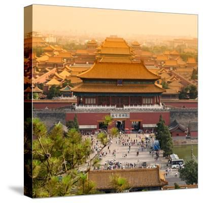 China 10MKm2 Collection - Forbidden City - Beijing-Philippe Hugonnard-Stretched Canvas Print