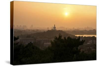 China 10MKm2 Collection - Beihai Park at Sunset-Philippe Hugonnard-Stretched Canvas Print